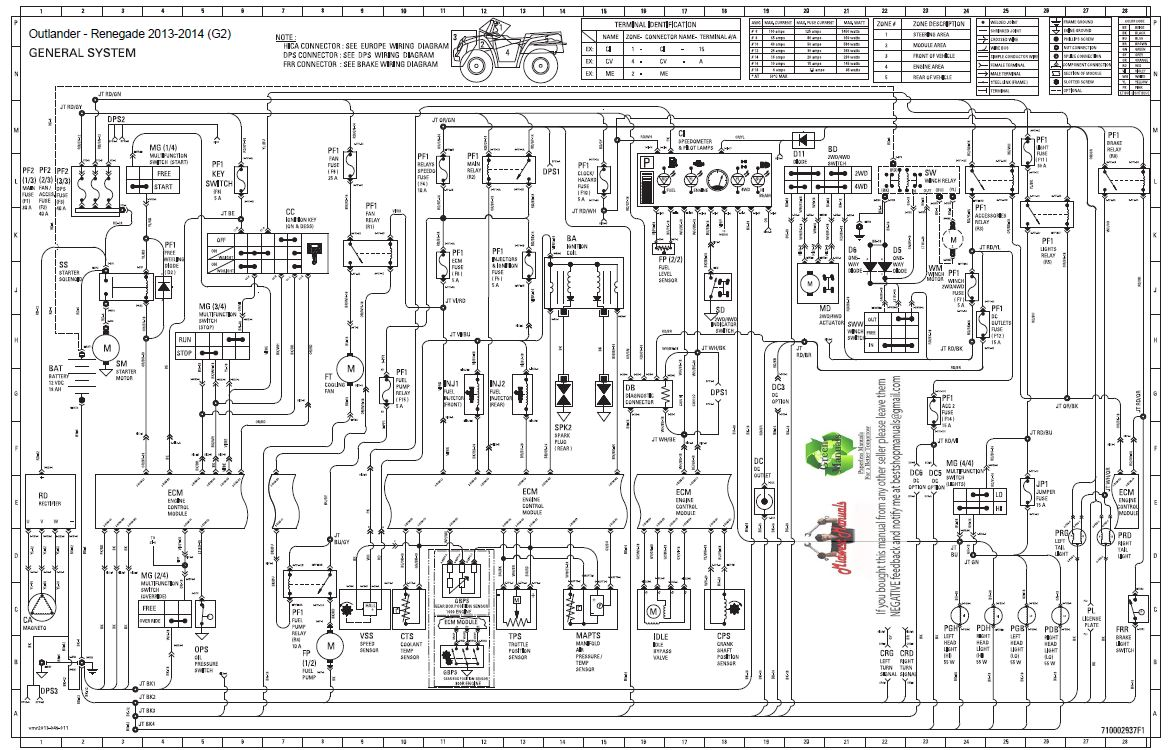 Can Am Outlander Max 400 Wiring Diagram