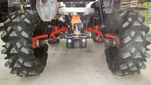 PATV GEN 2 FORWARD A-ARM KIT & C-Fab extended Trailing arms
