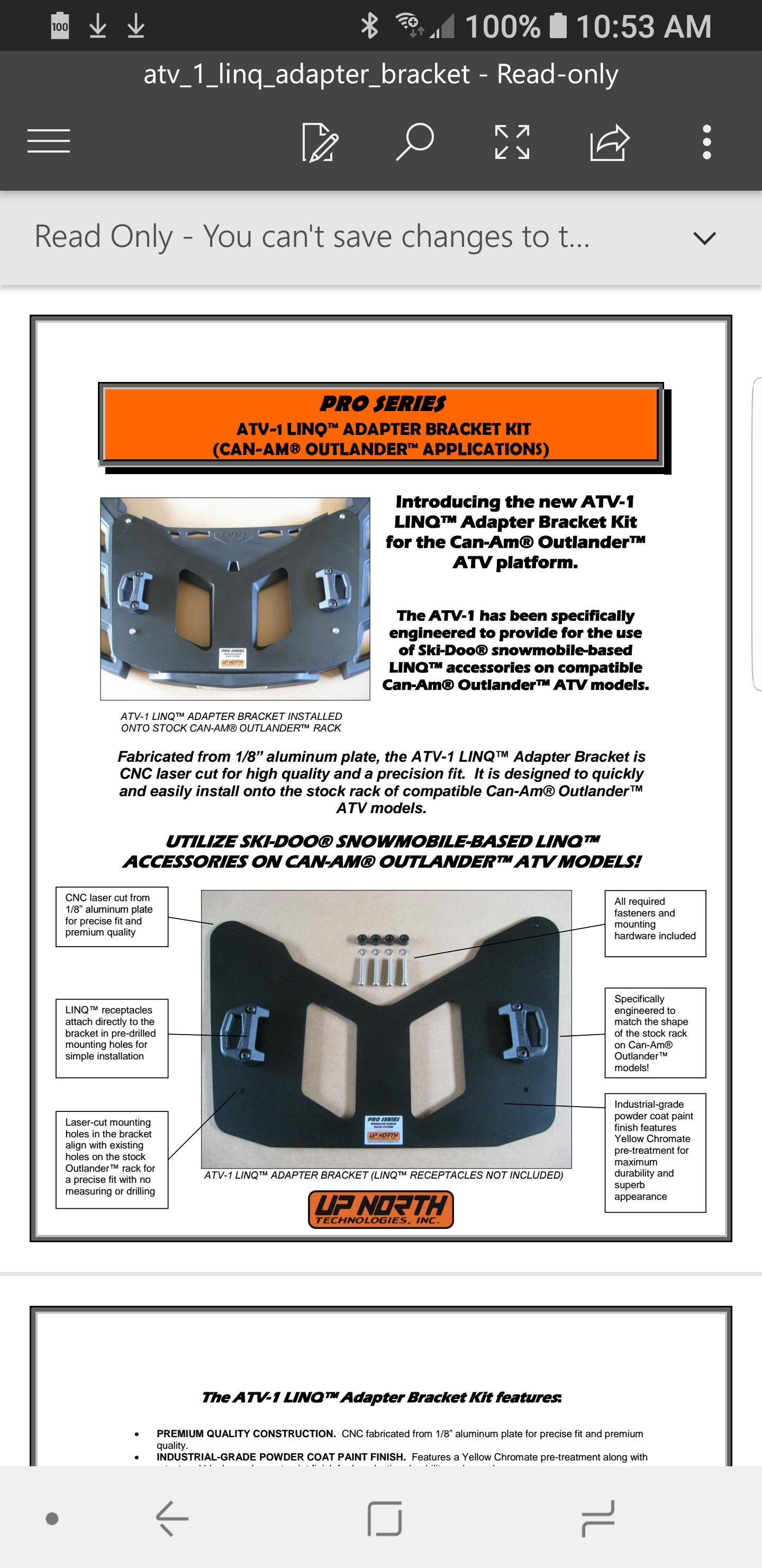 Extra Fuel   Can-Am ATV Forum