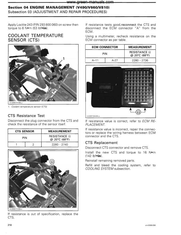 Temperature sensor | Can-Am ATV Forum
