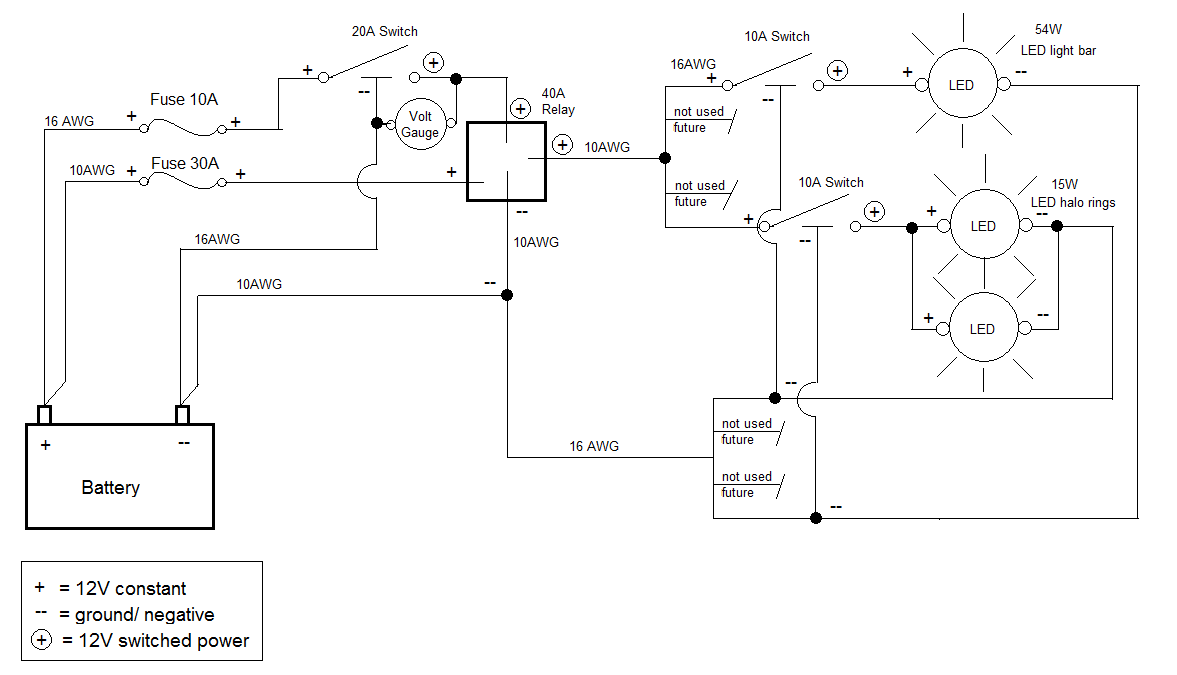Auxiliary Switch Wiring With Diagram And Pics Can Am Atv Forum