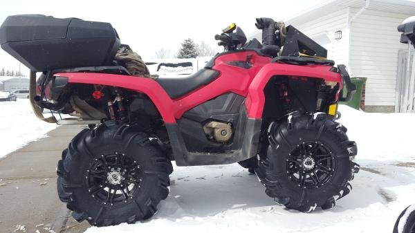 Showcase cover image for Grice19's 2013 Can Am Outlander 800-XT