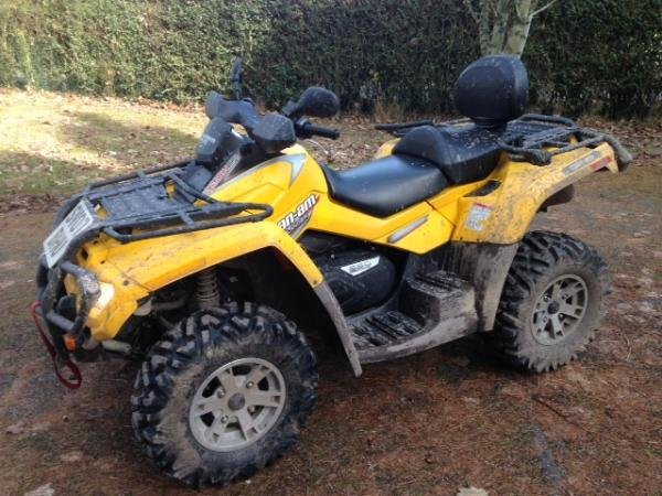 Showcase cover image for smaddiso's 2007 Can-Am Outlander Max 650 HO EFI XT
