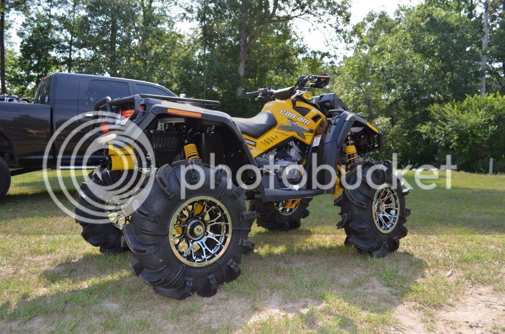 My 12' Catvos Lifted XMR | Can-Am ATV Forum