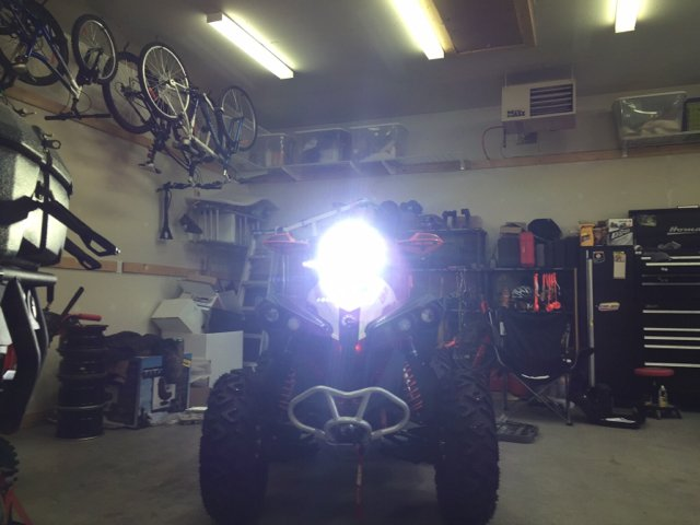 2016 Renegade Xmr Light Bar Can Am Atv Forum