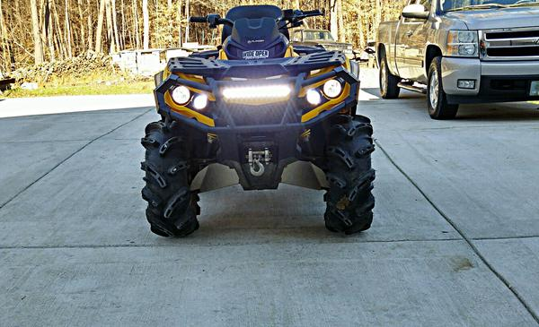 Led Light Bar Pictures Page 4 Can Am Atv Forum