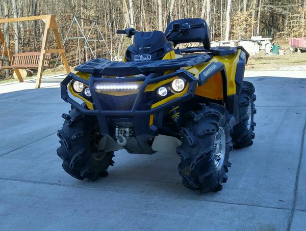 Led Light Bar Pictures Page 12 Can Am Atv Forum